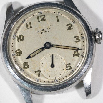 Universal Geneve Men&#039;s Wrist Watch, Small Second Hand - Wristwatches