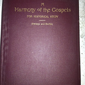 A Harmony of the Gospels - Books