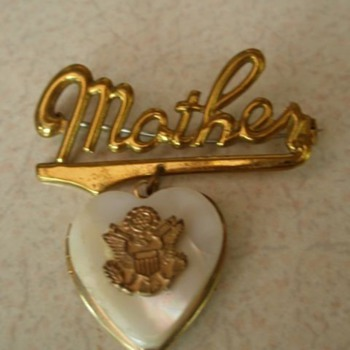 WW2 Sweetheart Lockets and Pins - Military and Wartime