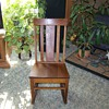 1930&#039;s Oak Sewing Rocking Chair