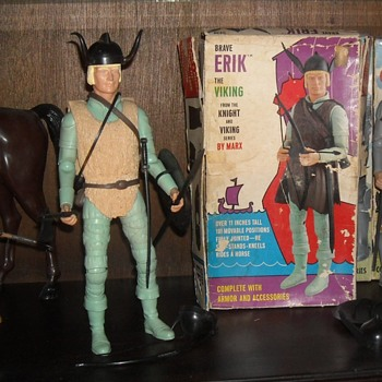 Brave Erik The Viking Marx Toys 1970 - 1972