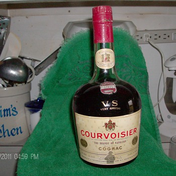 Unopen Bottle of Courvoisier - Bottles