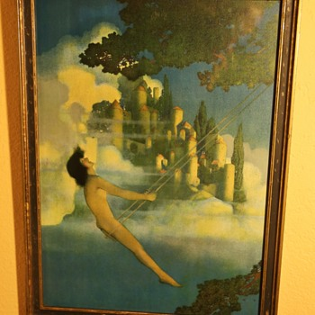 Dinky Bird by Maxfield Parrish - Posters and Prints