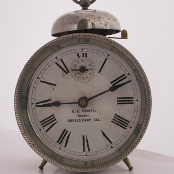Advertising Alarm Clock - Clocks