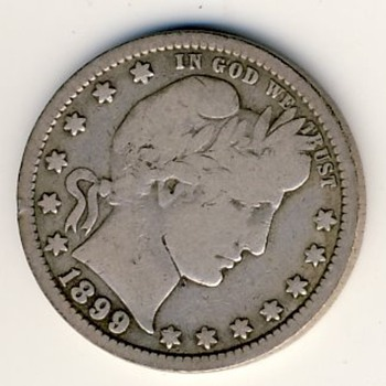 U.S. Barber Quarter (1899) - US Coins