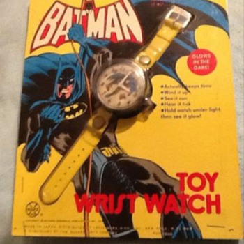 Marx Toy Batman Watch