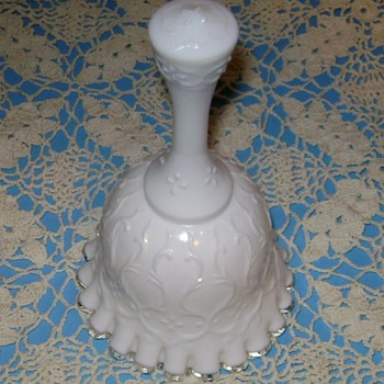 Fenton Glass Bell