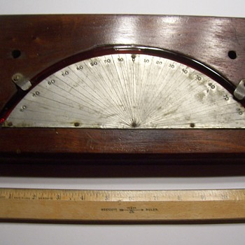 SHIP CLINOMETER - Tools and Hardware