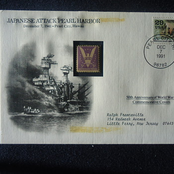 JAPANESE ATTACK PEARL HARBOR 1941 - Stamps