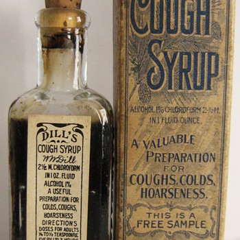 Dill's Cough Medicine Free Sample - Bottles