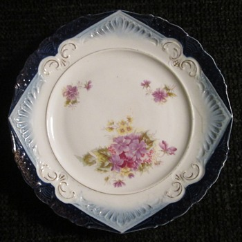 Beautiful plate, no hallmark? - China and Dinnerware