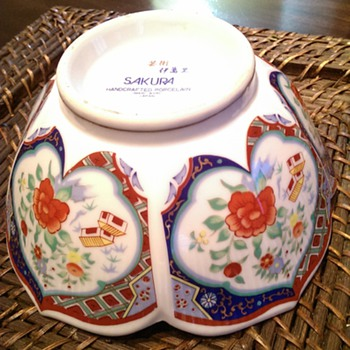 Imari Bowl - China and Dinnerware