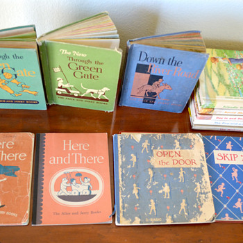 My Vintage Alice and Jerry Readers - Books