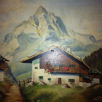 G. Wang Painting - Germany 1946