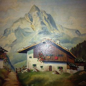 G. Wang Painting - Germany 1946