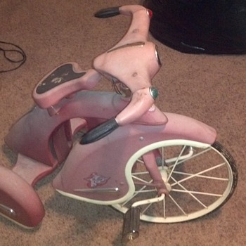 1950&#039;s Style Tricycle?