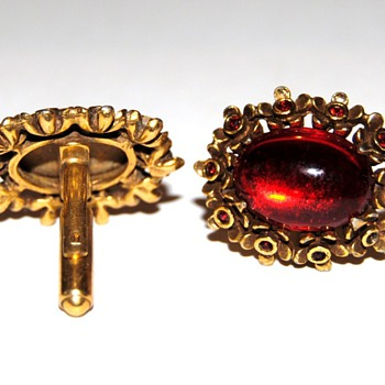 Ruby Red Cufflinks...