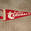 Fightin&#039; Cardinals mini-pennant...