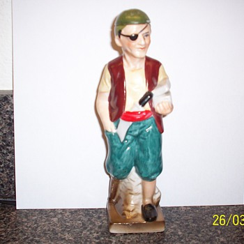Vintage Pirate Decanter - Breweriana