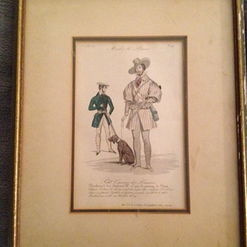 1831 Male Fashion Print - Posters and Prints