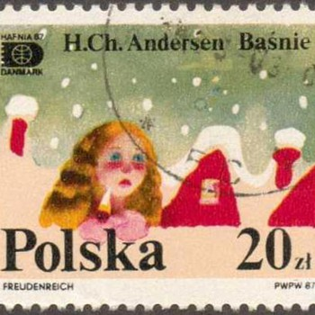 "Poland - ""Hans Christian Anderson"" Postage Stamp"