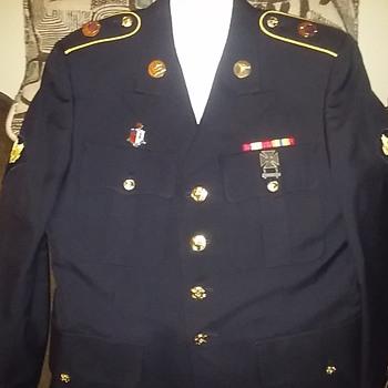 Todays Class 'A' Uniform....