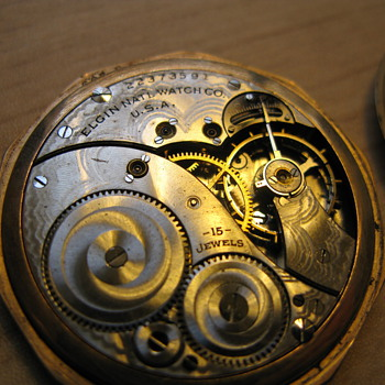 Additional Pics of Elgin engraved pocket watch