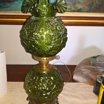 Antique Lamp unknown maker
