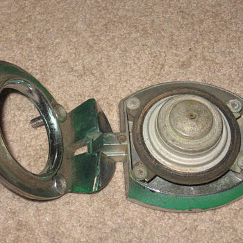 Antique gas cap