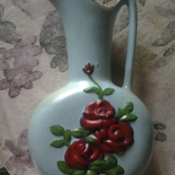 ewer vase? pottery?