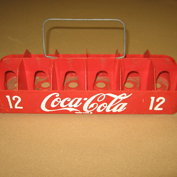 1950&#039;s Coca-Cola Twelve-pack Carrier