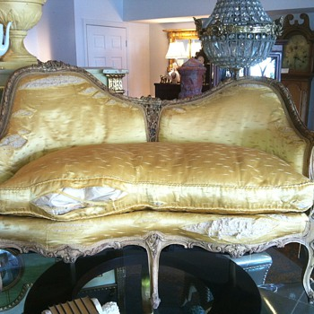 French Settee - Furniture