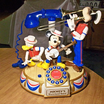 Mickey&#039;s Dixie land band - Telephones