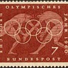 "1960 - W. Germany ""Olympic Games"" Postage Stamps"
