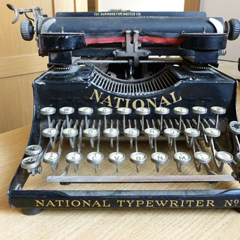 Hammond National Typewriter No. 3