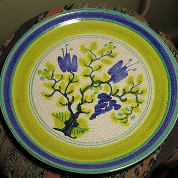 Large Midcentury Platter - Mid-Century Modern