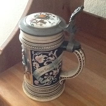 German Beer Stein - Breweriana