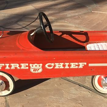 WF Fire Chief Pedal Car - Toys