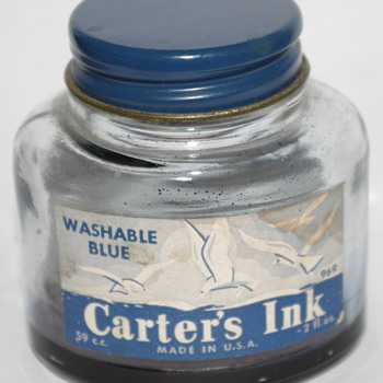 Carter's Ink Bottle - Bottles