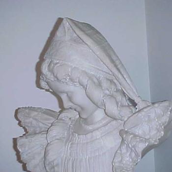 Galleria Frilli Marble/Alabaster Bust