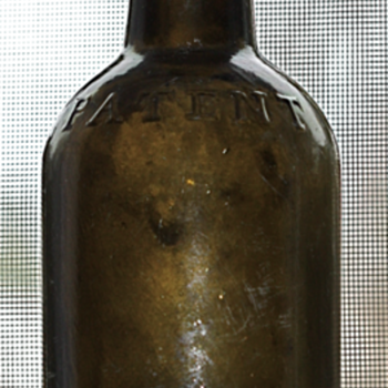 ***Old Pontil Patent Dyottville Glassworks Bottle***