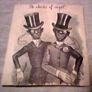 MINSTREL SHOW  PRINT - Posters and Prints