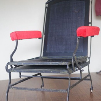 Victorian Marks AF Folding Chair 1876