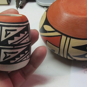 Native American Pottery Pieces  - Native American
