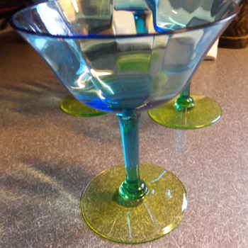 Pretty Stemware  - Glassware