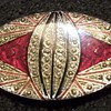 Unsigned Faberge' Brooch - Lapel Pin