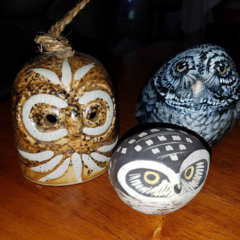 Three little Owl's