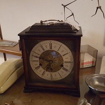 Just purchased Bracket mantel clock wih pendulum movement manufactuered by Cuckoo Clock mfg.