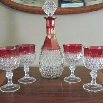 Wine decanter and glasses - Glassware