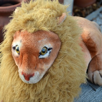 Old Stuffed Animal - Lion